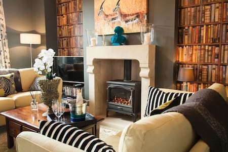 Award winning modern cottage sleeps 4 - Giggleswick - Rumah