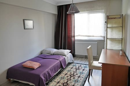 Room in the modern apartment with private bathroom - Etimesgut - Apartamento