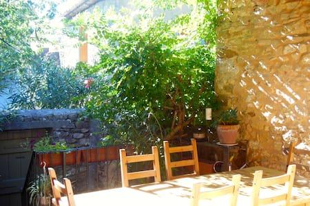 Maison de caractère proche Ardèche - Saint-christol-de-rodières - Rumah