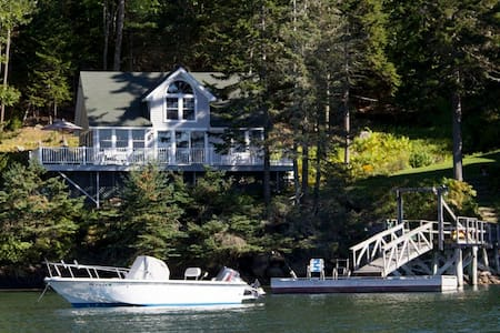 Cove_Side_On_Linekin_Bay_East_Boothbay - Ház