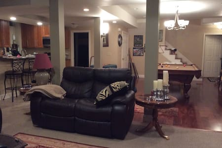 Private BASEMENT living  RETREAT! - Westfield - House