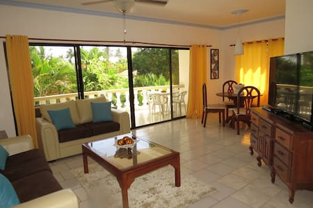 Beach front community - pool side - Cabarete