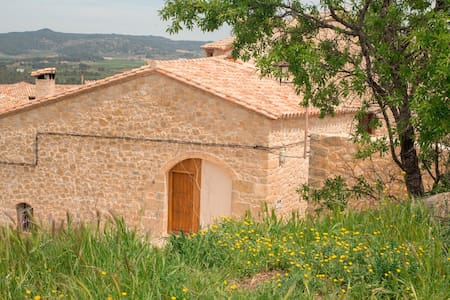 Pajar restaurado en piedra y madera - Haus