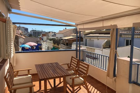 Top floor apartement, two terraces - Sitges center - Wohnung