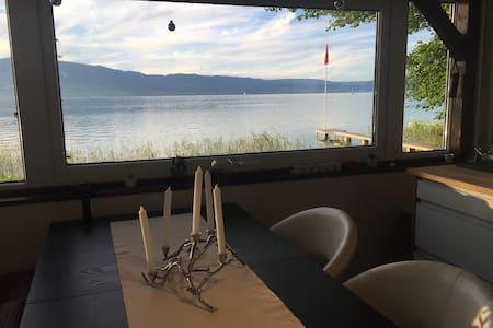 Chalet avec accès direct au lac - Estavayer-le-Lac - Apartment