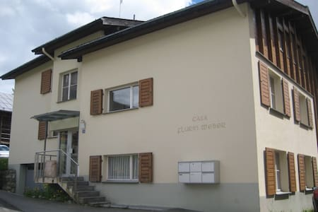 3 1/2-Zimmer-Wohnung in Breil/Brigels - Lejlighed