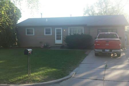 Quite suburban home near Wichita. - House