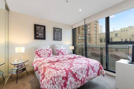 Best CBD location. 2 queen bedrooms