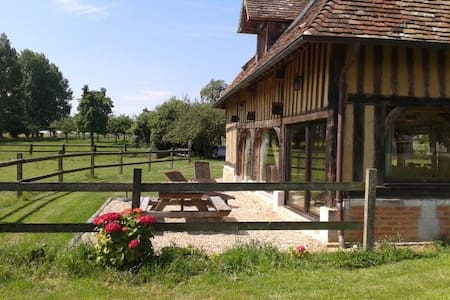 Maison de campagne en Normandie - Bonnebosq