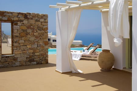 Villa Zas - Naxos Grande Vista - Vivlos