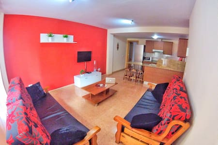Flat+7 Person+Wifi50Mb - Family & Groups - Marpequeña