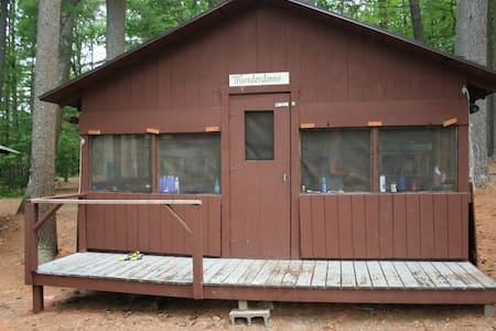 Summer Camp Cabin on a Lake: Thunderdome - Kisház