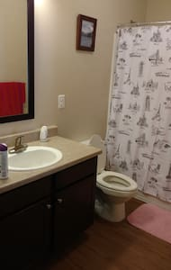 Beautiful apartment with private bed & bath. - Raleigh - Apartment