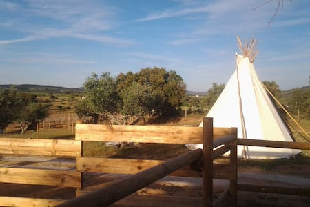 Ranch do Novo Mundo Tepee - 2 to 4p - Vila de Frades - Tipi