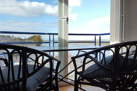 Vue panoramique sur la Baie de Somme - Saint-Valery-sur-Somme - Apartment