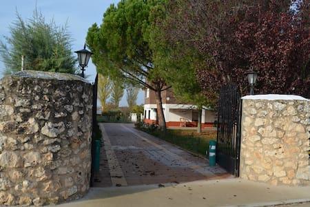 CASA GRANDE CON JARDÍN a un  paso de Madrid - Heras de Ayuso