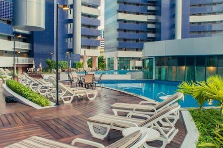 Flat com 02 quartos no melhor de Fortaleza - Fortaleza - Wohnung