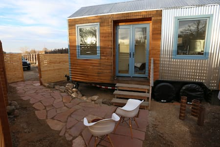 My Taos Tiny house on wheels - Ranchos de Taos - Haus
