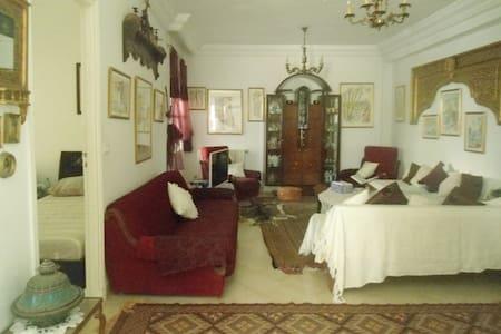 Maison d'artiste paisible et pleine d'inspiration - Tunis - Dům pro hosty