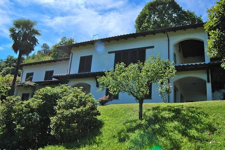 Villa con giardino e vista panoramica Arona - Dagnente - Villa
