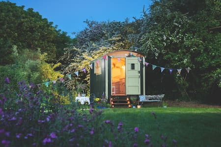Free Range Escapes' hidden shepherd's hut - Cabana