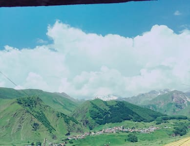 Double Room in Kazbegi - Guesthouse