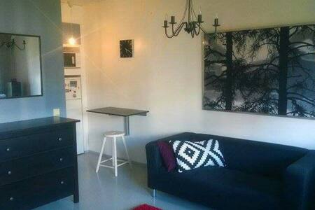 Tidy studio with balcony - Хельсинки - Квартира