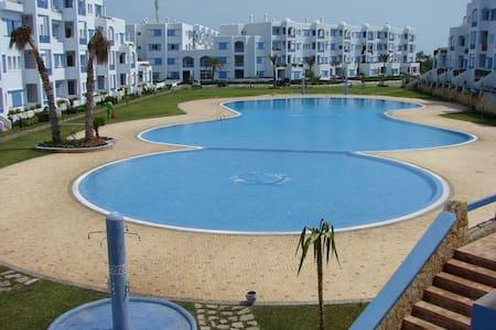 joli appartement à JAWHARA SMIR TETOUAN, Marina - Apartment