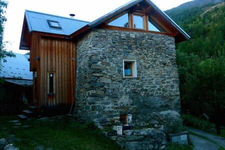Maison en pierre et bois - Rumah
