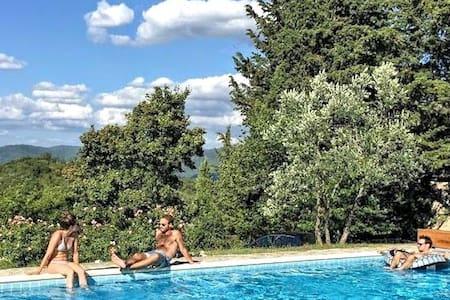 Villa Ripertoli, Chianti , Florence - Greve in Chianti - Villa