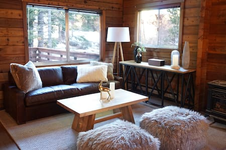 Newly renovated home with 4 bedrooms, 2 baths and a hot tub. Access to Tahoe Park HOA beach. 15 minutes to Squaw & Alpine and 10 to Homewood. Paige Meadows hiking is just 3 blocks away. Dog friendly!  Winter Discounts: 10% off Weekly Bookings