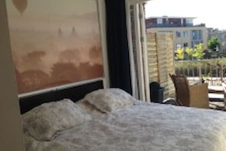 Great luxe Suite, 10 minutes from Amsterdam Center - Apartamento
