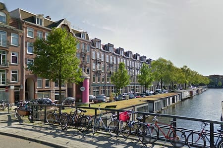 Lovely Canal apartment with garden in city center - Amsterdam - Apartment