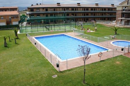 Duplex en urbanización con piscina - Alesanco - Wohnung
