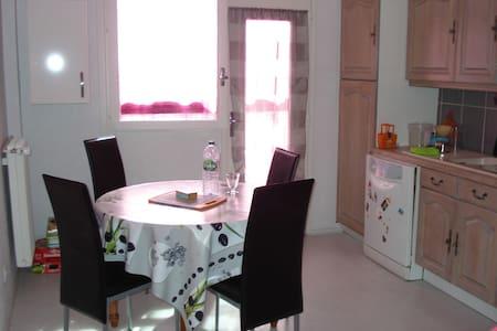Jolie chambre dans bel appartement de 105 m2 - Cournon-d'Auvergne - Daire