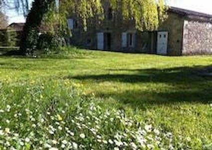 Grande maison de campagne piscine - Lannes - Haus