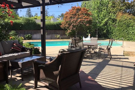 Private Room/Bath. North Los Altos - Pet Friendly - Casa