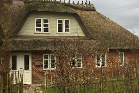 Wunderschönes, reetgedecktes Haus am Ostseestrand - Niesgrau