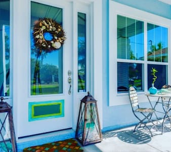 Baby Blue Bungalow- Discover your happy place - Jacksonville Beach - Casa