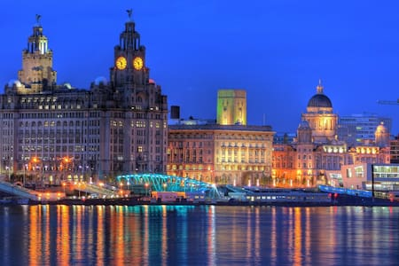 City centre, transport links nearby, very peaceful - Liverpool - Apartemen