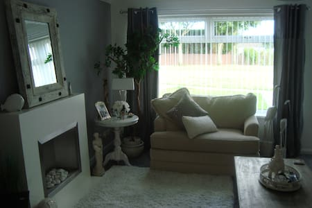Lovely cosy home in Hadrian Park,Newcastle on Tyne - Wallsend