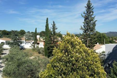 Chambre dans maison provençale avec grand jardin - Maison
