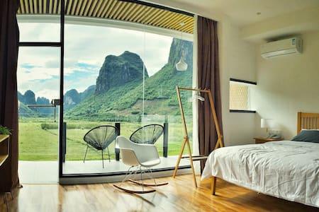 1Q84宿-阳台全山景大床房 - Bed & Breakfast