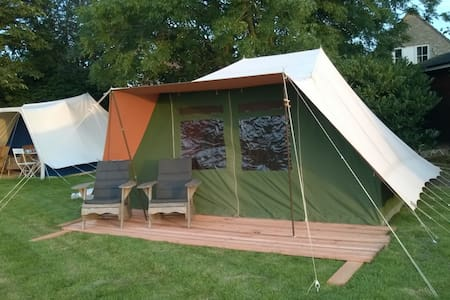 Glamping in de tuin (2) - Appartement