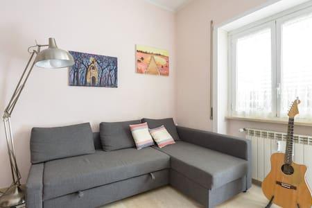 Camera da letto con terrazzo, vicino San Pietro - Condominium
