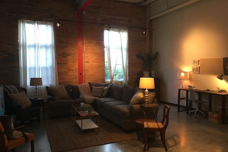 Upscale Downtown Loft - Lexington - Vindsvåning