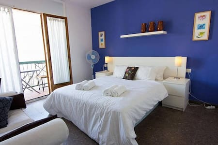 3.2 Quiet double room with balcony - Sitges - Wohnung