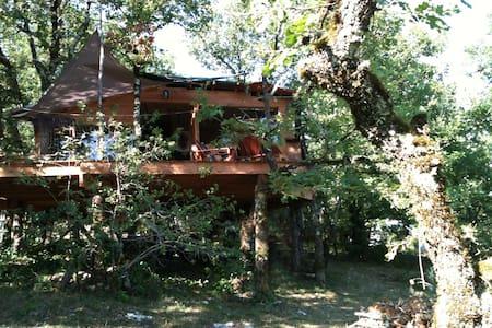 la cabane du pech - Cabin