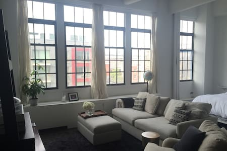 Unique naturally lit Loft in historic building - Brooklyn - Loft