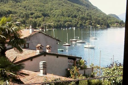 In the old village of Caldè, 50 mt from lake. - Castello - House